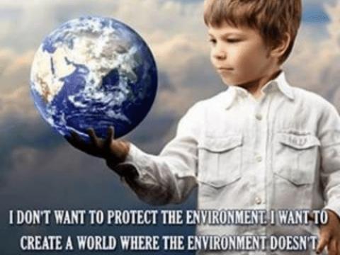 closet environmentalist