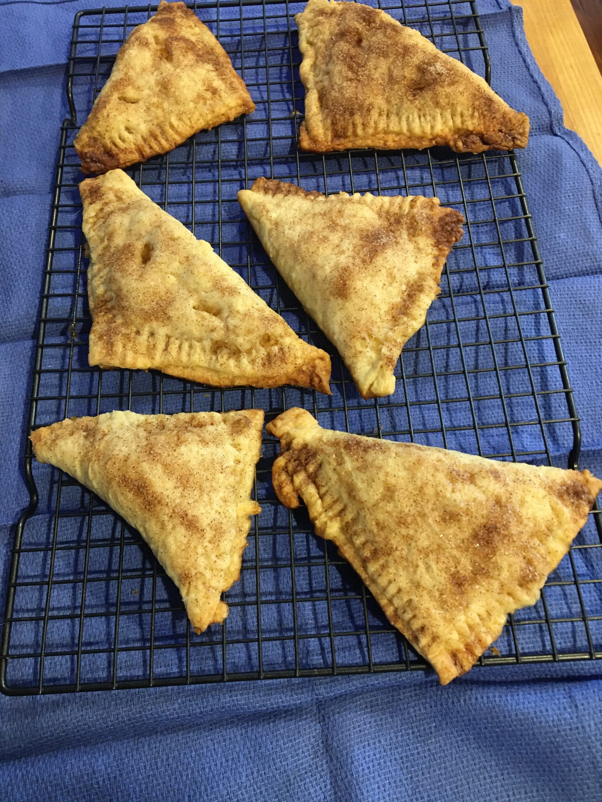 Plastic Free Apple Turnovers