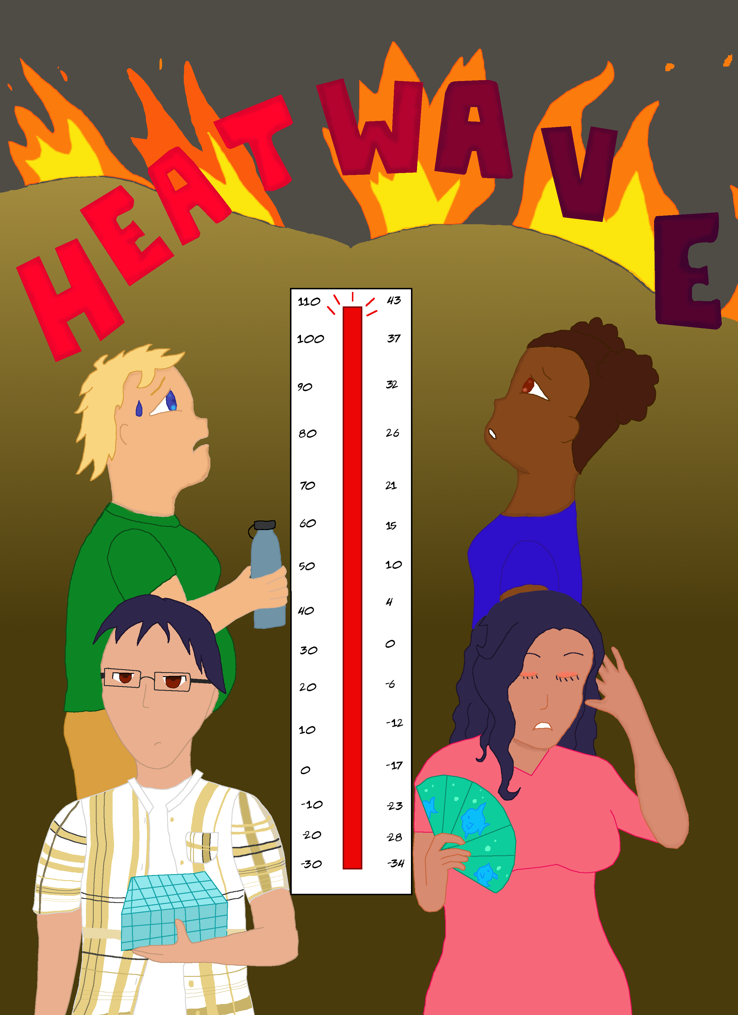Cover and title reveal for Heatwave